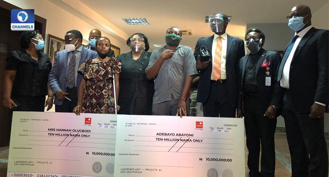 Lagos judicial panel awards N10m each to two victims of police brutality