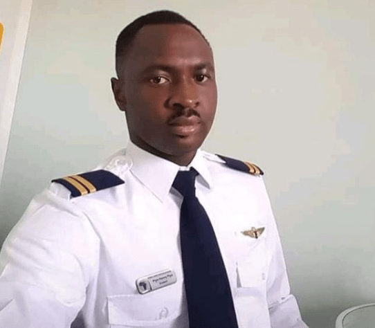 Photo of co-pilot of the military aircraft that crashed in Abuja