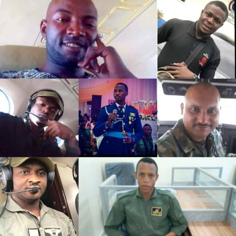 Nigerian Air Force releases names of victims of military plane crash