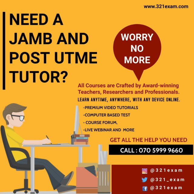 JAMB and UTME Students Can Now Prepare for Exams Online
