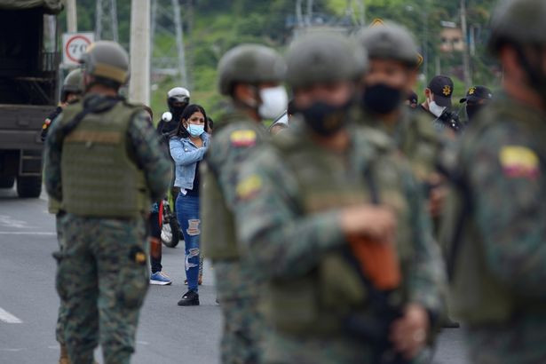 At least 67 dead in blood-soaked prison riots as gangs fight over power in Ecuador