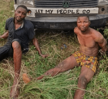 Two armed robbery suspects arrested in Ogun (photo)