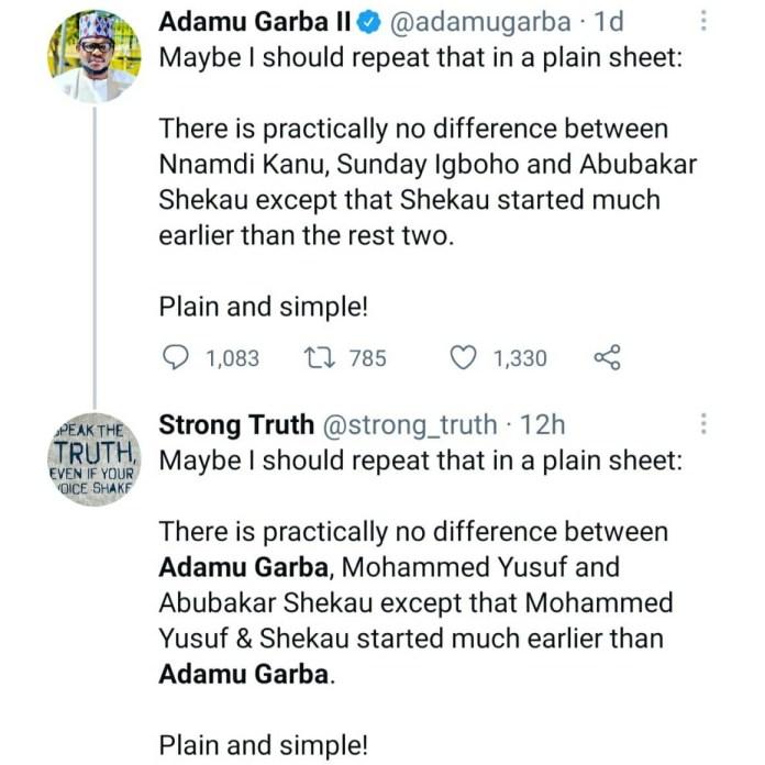 Presidential aspirant, Adamu Garba, trends after he likened bandits to Niger Delta militants (video)