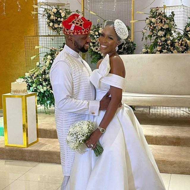 Media personality Debola Williams weds daughter of former Ogun state governor Gbenga Daniels (photos)