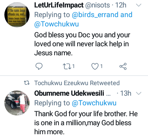 Nigerian man finds House Officer who saved his life at LUTH after he shared the story on Twitter