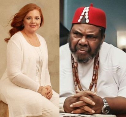 """""""She was a victim of rape and a child bride""""- Clergywoman Laurie Idahosa tells Pete Edochie after he said his mum married his 40-year-old dad at the age of 15"""