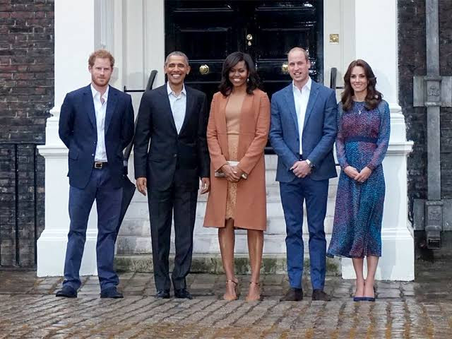 Michelle Obama reacts to Meghan Markle