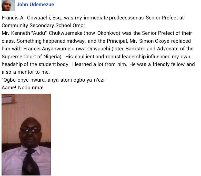 Kidnapped Chairman of?the Nigerian Bar Association Onitsha found dead