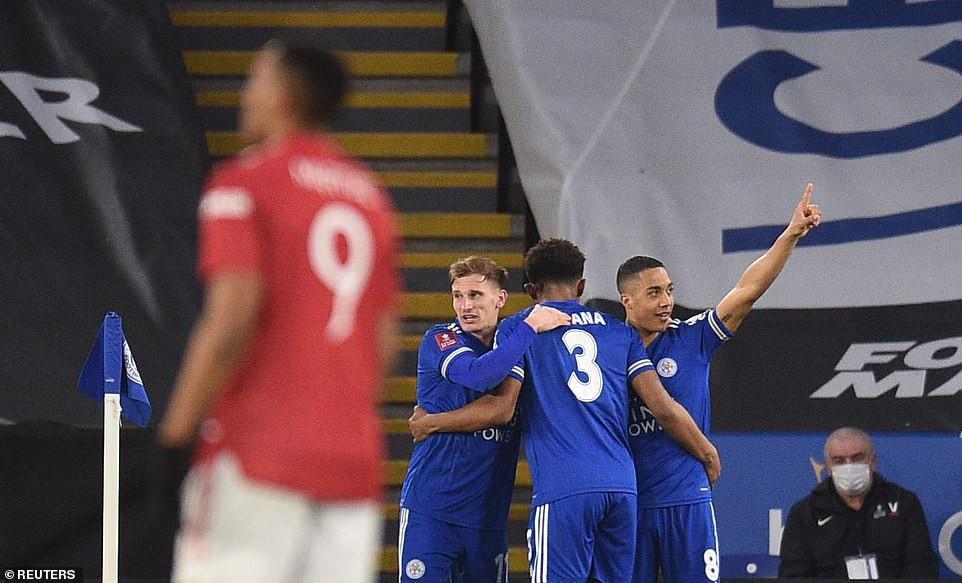 Leiester 3 - 1 Man Utd: Kelechi Iheanacho