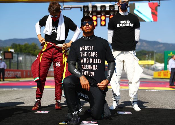 """Former Formula 1 boss, Bernie Ecclestone claims Lewis Hamilton is """"being used by Black Lives Matter movement"""" for money"""