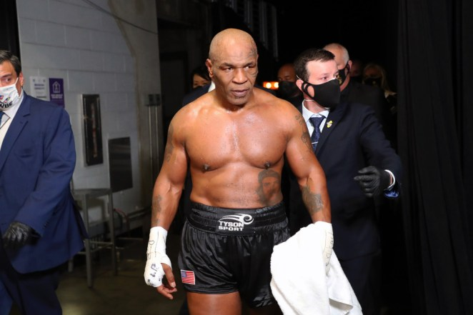 Mike Tyson aged 54?confirms his next fight will be against Evander Holyfield in massive $25million deal (video)