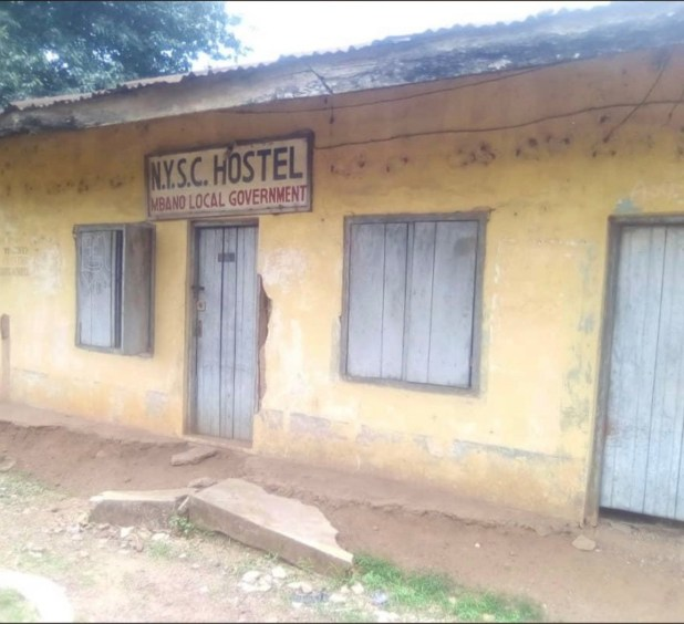 Corps members in Mbano share photos of the poor state of their corper