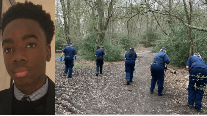 Update: UK Police search Epping Forest for Nigerian student who has been missing for more than a week