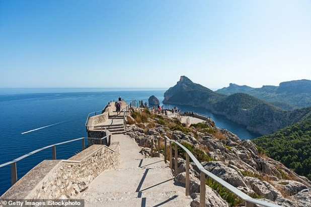 Man, 56, falls 150ft to his death from clifftop beauty spot in Majorca