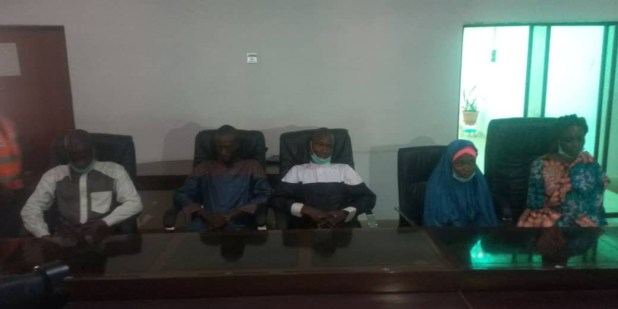 Five rescued students of Federal College of Forestry Mechanization in Kaduna reunite with their families (photos)