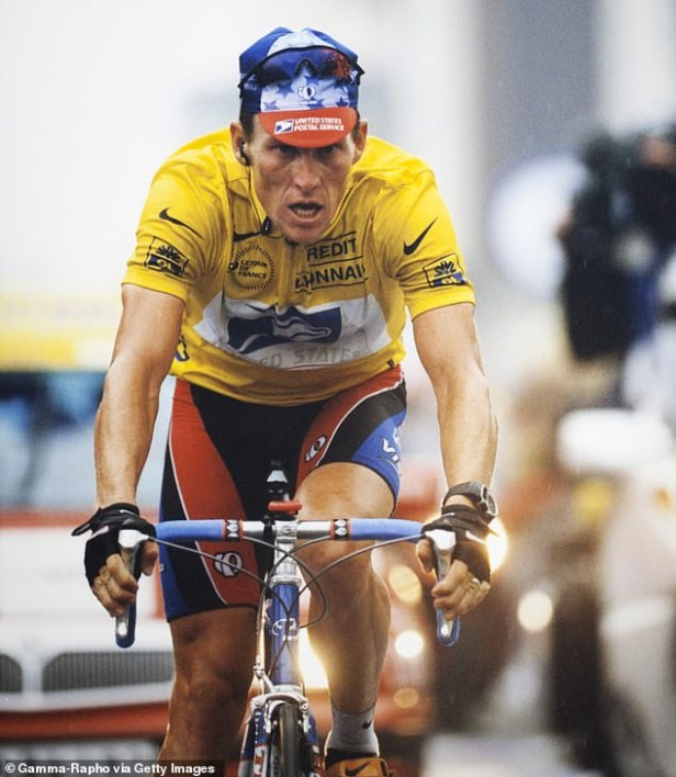 Disgraced cyclist, Lance Armstrong