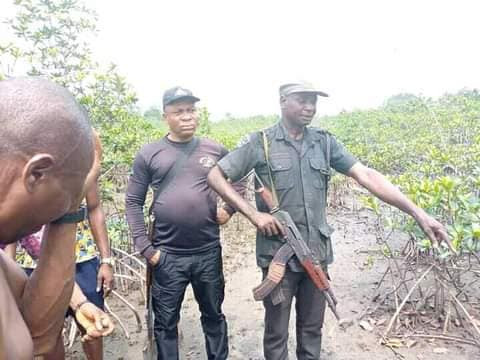 Graphic: Decomposing body of kidnapped Rivers community chairman found buried in shallow grave