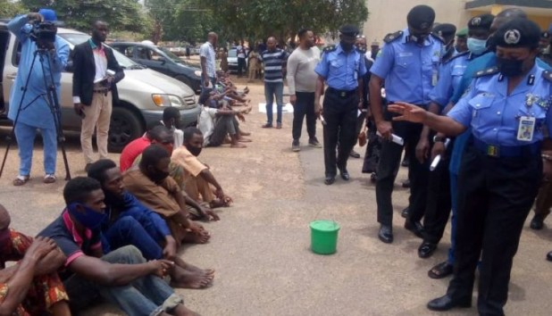 Five persons paraded in Ibadan for selling human heart at N10,000 in Ibadan