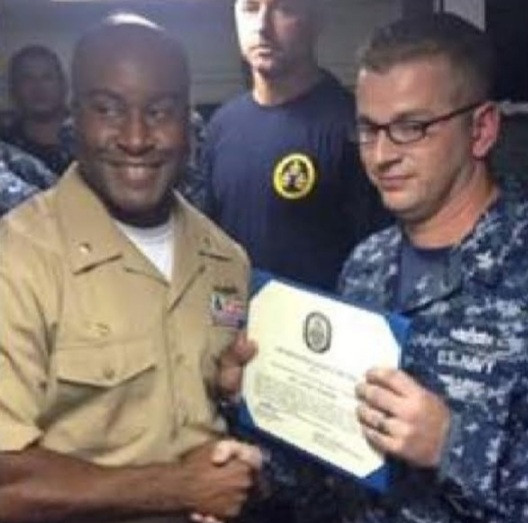 Kelechi Ndukwe makes history as the first Nigerian-American Commander of a US Navy ship