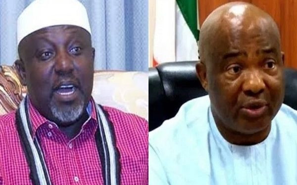 Imo state government accuses former governor, Rochas Okorocha, of being behind the attacks in the state