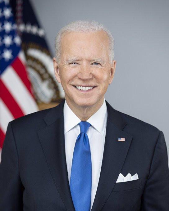 White House unveils official portraits of Joe Biden and Kamala Harris