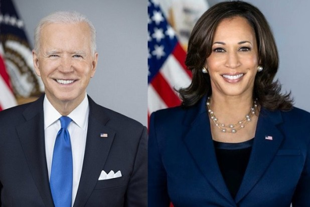 White House unveils official portraits of Joe Biden and Kamala Harris