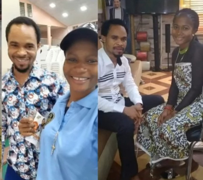 Clergy man, Odumeje forgives comedienne, Ada Jesus then offers her family 1 million Naira to add towards her treatment (video)