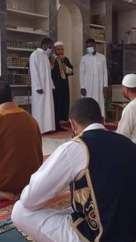 Two Nigerian men convert to Islam in Libya
