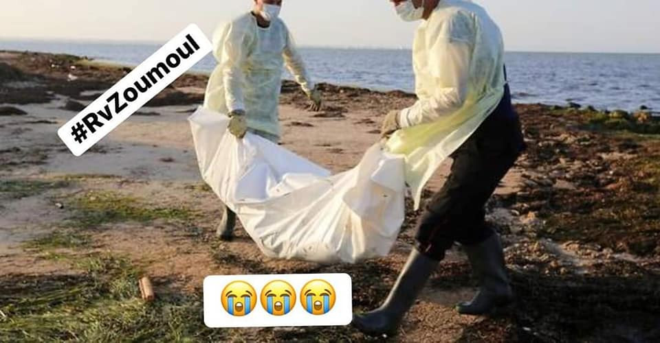 Au moins 41 migrants africains meurent alors qu'un bateau coule au large de la Tunisie
