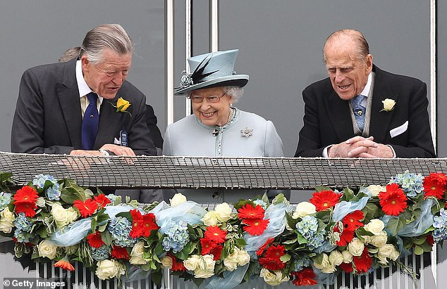 Queen Elizabeth suffers another loss as her racing advisor and close friend, Sir Michael Oswald, dies on the day of Prince Philip