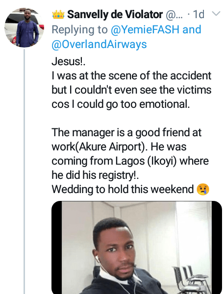 """This wound is forever"" - Friends mourn groom who died in Ondo accident a day after his court wedding and one week to church ceremony"