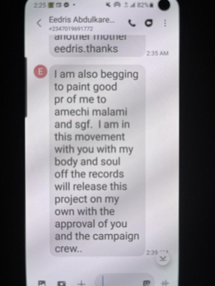 Festus Keyamo calls out singer Eedris Abdulkareem over alleged blackmail