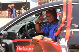 Budweiser Smooth Kick-off Campaign Records Mercedes Benz Grand Prize Winners