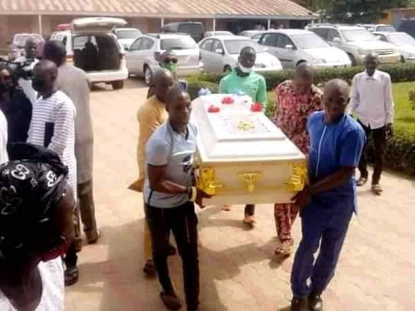 Abducted Greenfield University student, Dorothy Yohanna, who was killed by her abductors has been buried (photos)