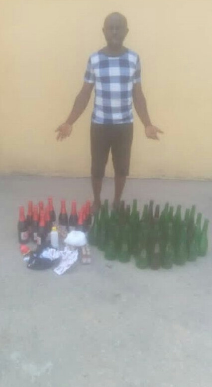 Police uncover illegal brewery in Delta community, arrest one
