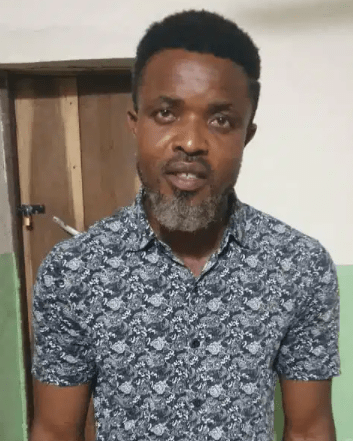 Alleged sponsor of unknown gunmen who carry out killings and attacks on police stations in Imo state apprehended (photo)