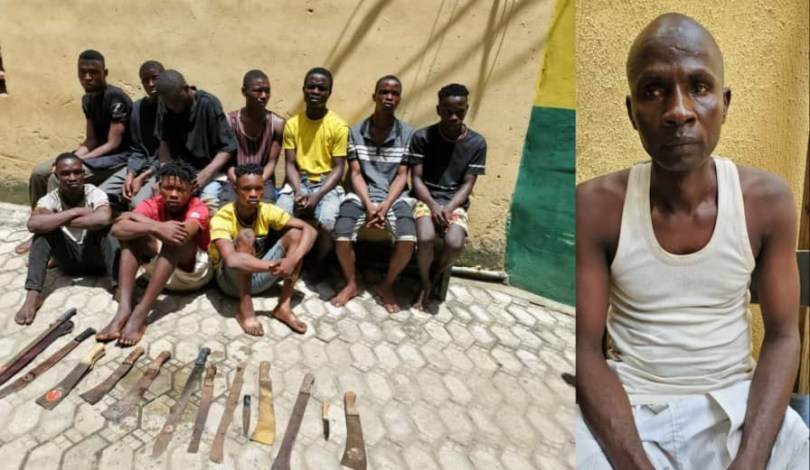 11 suspected cultists and traffic robbers nabbed in Lagos