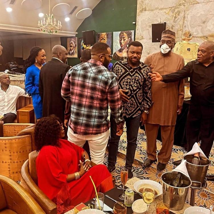 James Ibori, Gbajabiamila, Orji Uzor Kalu, others attend Terry Waya