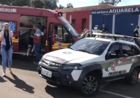 Teenager kills several children and teachers after bursting into Brazil day care centre