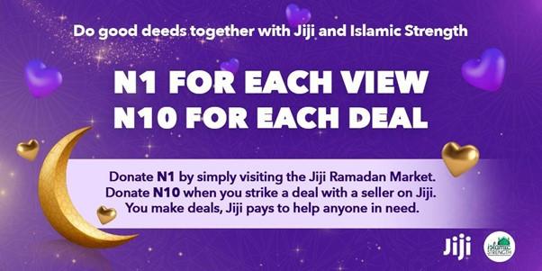 Jiji launches Ramadan Charity Market In Collaboration with Islamic Strength