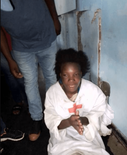 Woman nabbed after allegedly stealing a child