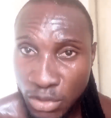BBNaija star, Angel, raises alarm after he was allegedly assaulted by a driver from a ride-hailing app (video)