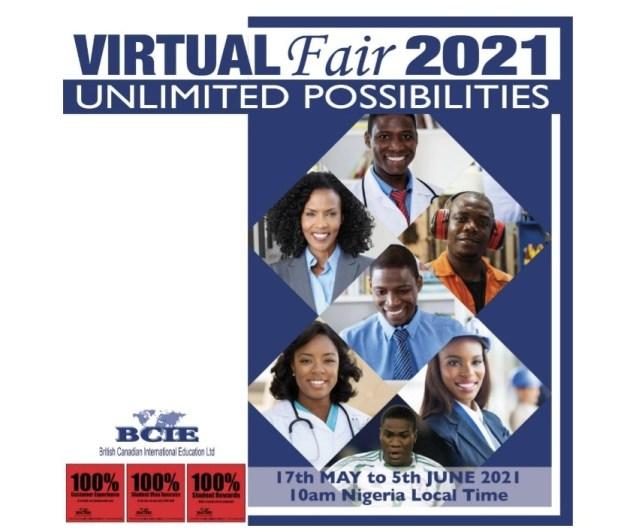 BCIE Virtual Fair 2021... Meet Universities from the United Kingdom and Australia