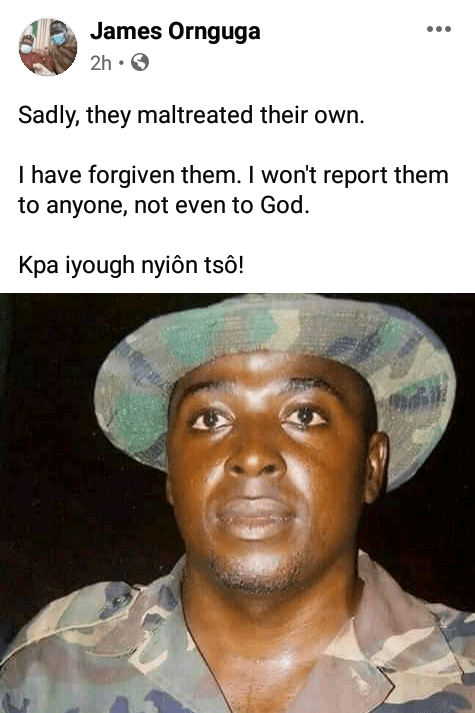 """""""I have forgiven them"""" - Benue State APC Publicity Secretary narrates how he was tortured by soldiers"""