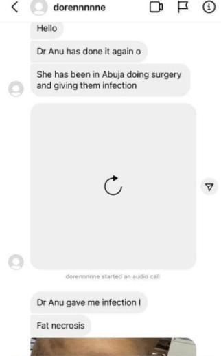 Dr Aanu trends as a new victim emerges and accuses her of destroying her body after she continued practicing in Abuja despite court case (graphic photos)