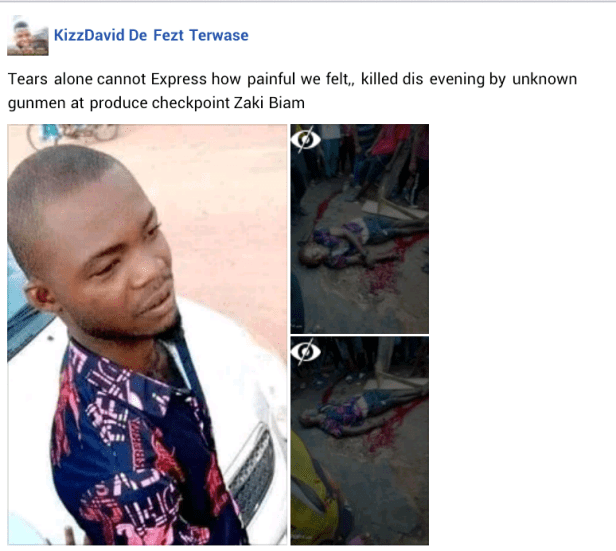 Passer-by killed, another injured as gunmen in military uniform attack Benue revenue inspection point