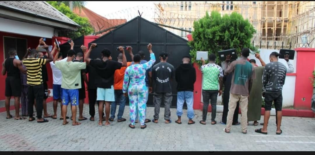 Alleged fraud: Movie producer and 19 others arrested for in Calabar (photos)