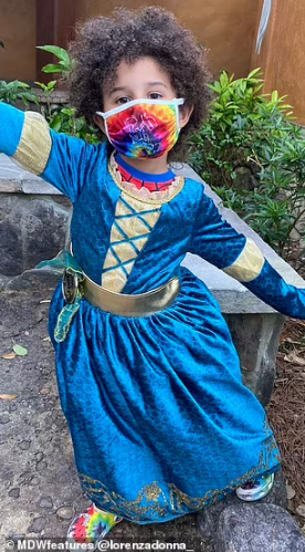 Mum reveals she is teaching her 4-year-old son to use gender-neutral words and urges him to wear dresses to school in a bid to