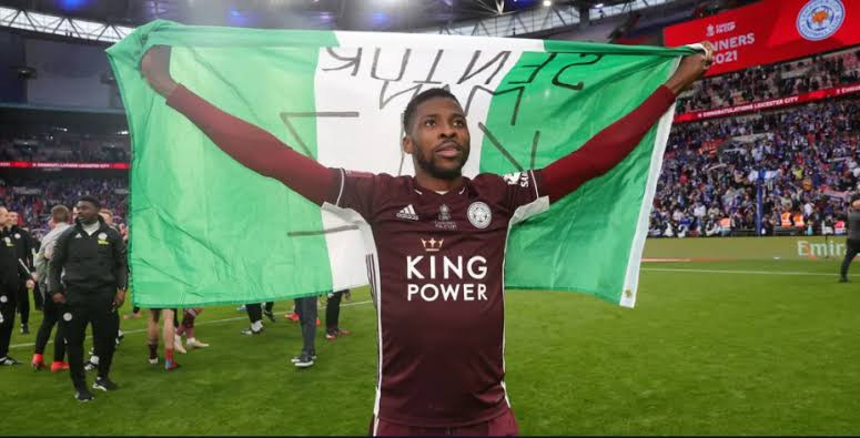 Nigeria to immortalise Kelechi Iheanacho and Wilfred Ndidi?s FA Cup celebrations with Leicester City