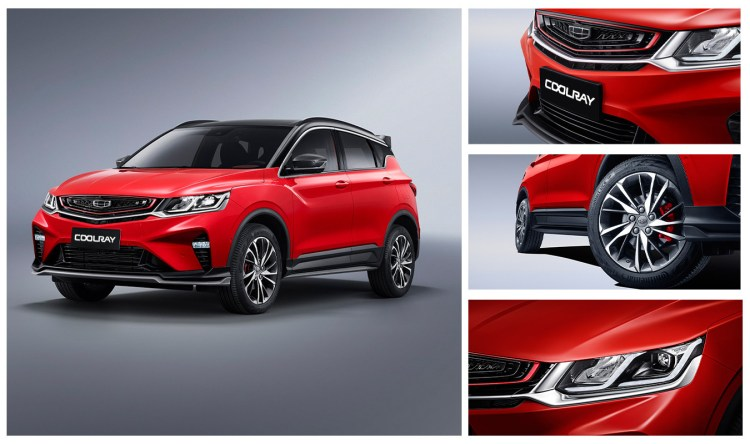 GEELY Nigeria introduces its new high-tech sporty compact SUV model - The Exceptional Geely Coolray